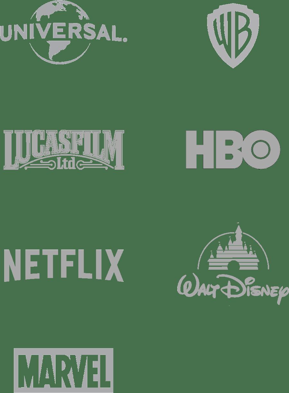 Universal Warner Bros Lucas Film HBO Netflix Walt Disney Marvel