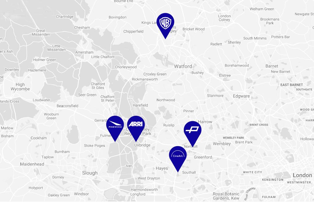 CineArk Map location